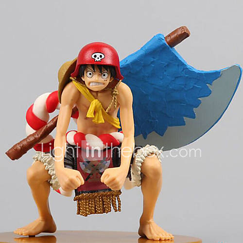 One Piece Monkey D. Luffy PVC 12 Anime Action Figures Model Toys Doll Toy