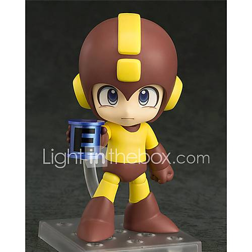 Rockman Rockman PVC 10cm Anime Action Figures Model Toys Doll Toy 1pc