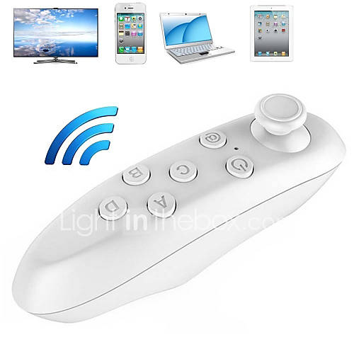 VR BOX 2 Remote Controller Portable Wireless Bluetooth 3.0  Mini Gamepad for 3D VR Glasses  iPhone iPad Tablet PC TV