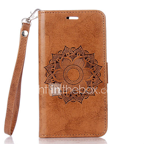 Case For LG G3 LG K8 LG LG K10 LG K7 LG G4 Card Holder with Stand Flip Full Body Cases Flower Hard PU Leather for