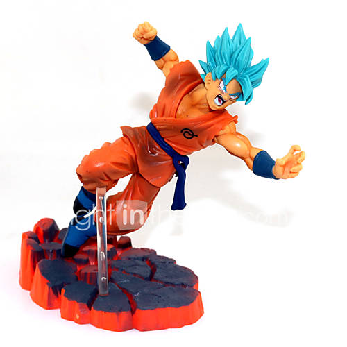 Anime Action Figures Inspired by Dragon Ball Son Goku PVC 14 CM Model Toys Doll Toy
