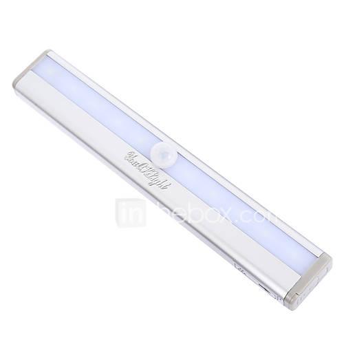 YouOKLight Portable Motion Sensing Closet Cabinet DIY Cold White/Warm White Light LED Night Light for Indoor Night Lighting