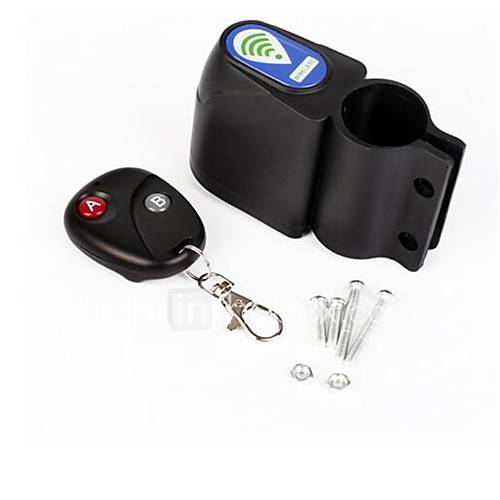 Bicycle Vibration Alarm Cycling Security Lock Remote Control Vibration Alarm Anti-theft Professional Bike Lock