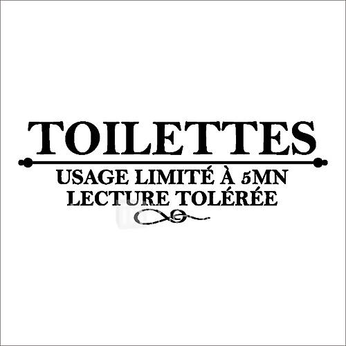 Wall Stickers Wall Decals Style Toilet Decoration PVC Wall Stickers