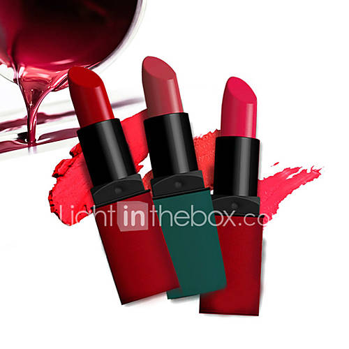 1Pcs Matte Lipstick Long Lasting Waterproof Moisturizing Lip Balm MakeUp