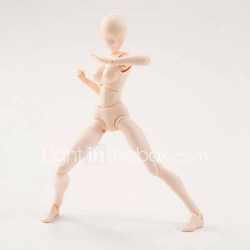 6 Style Body Chan Body Kun Pale Women 1Pcs Skin colour 15cm Figma Bandai PVC Action Figure Figma