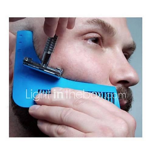 1Pcs Beard Shaping Tool Gentleman Beard Trim Template Hair Cut Hair Molding Trim Template Beard Modelling Tool