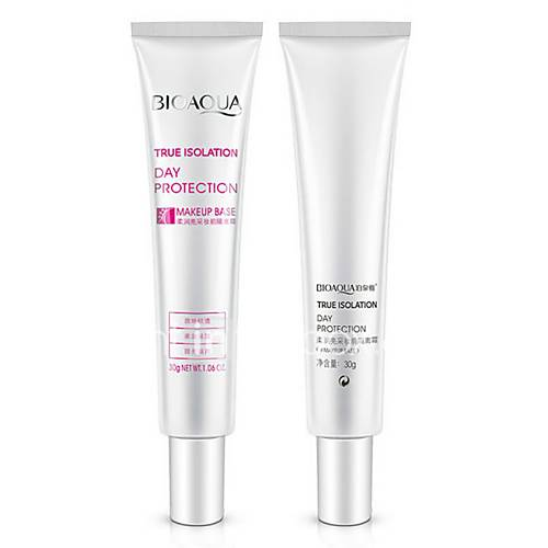 1Pcs Women Face Primer Brand Makeup Base Liquid Foundation Oil-Control Whitening Moisturizing Concealer Primer 30Ml