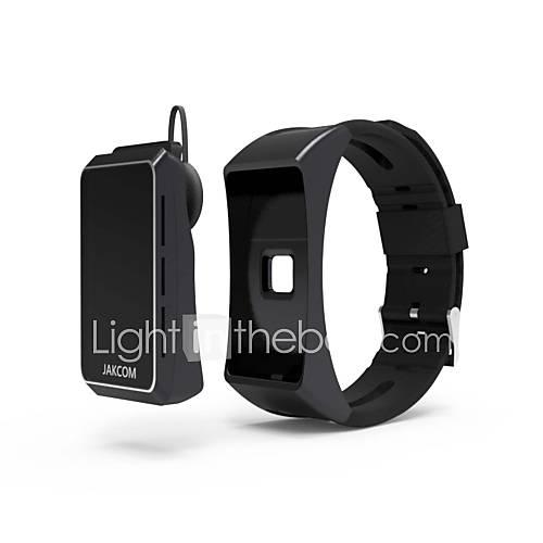 jakcom pulsera inteligente reloj inteligente anillos pulseras inteligentes auricular cablewater calorías / resistentes impermeables largos