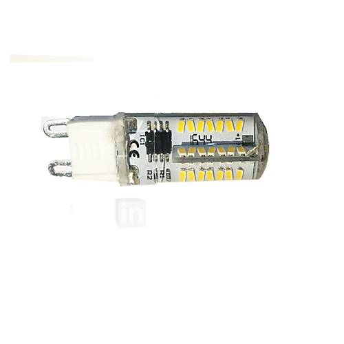 3W G9 LED Corn Lights T 66 SMD 3014 200-220 lm Warm White Cool White Dimmable AC220 V 1 Pcs TESO 4611