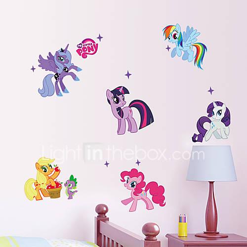 1Pcs 50Cm70Cm  Kid Wall Stickers My Little Pony    Wall Sticker Girls Sticker For Kids Room