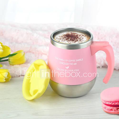 Drinkware 450 Stainless Steel Polypropylene Tea Coffee Vacuum Cup