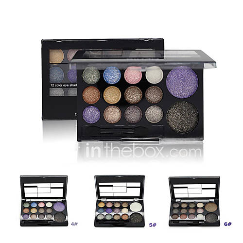 1Pcs 14 Warm Color Eyeshadow Palette Neutral Nude Eye Shadow Giltter Cosmetic Wholesale Makeup Palette Set