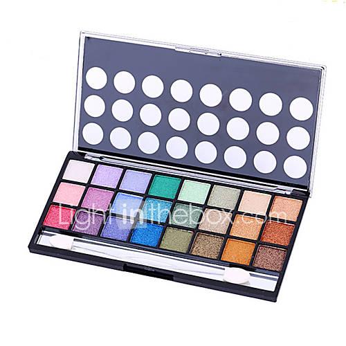 1Pcs Twenty-Four Colors Pearl Matte Smoked Eye Shadow Lasting Nude Makeup Earth Colors Makeup Palette