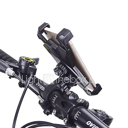 Bike Phone Mount Holder Universal Smart phone Adjustable Cradle Clamp 360 Degrees Rotatable Bicycle Handlebar Motorcycle Rack for 3.5-6.5 inch