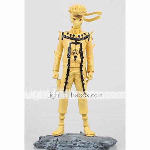 Anime Action Figures Inspired by Naruto Naruto Uzumaki PVC 25.5 CM Model Toys Doll Toy 1pc