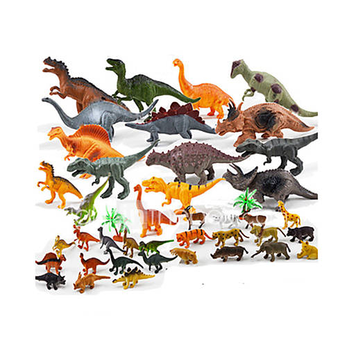 Action Figures  Stuffed Animals Display Model Model  Building Toy Toys Novelty Dinosaur Plastic Rainbow For Boys