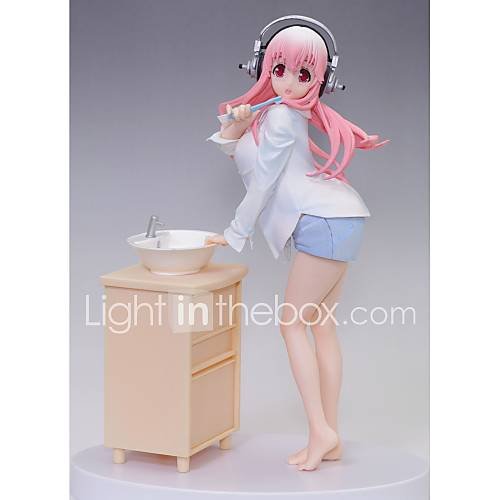 Anime Action Figures Inspired by Super Sonico Cosplay PVC 18 CM Model Toys Doll Toy