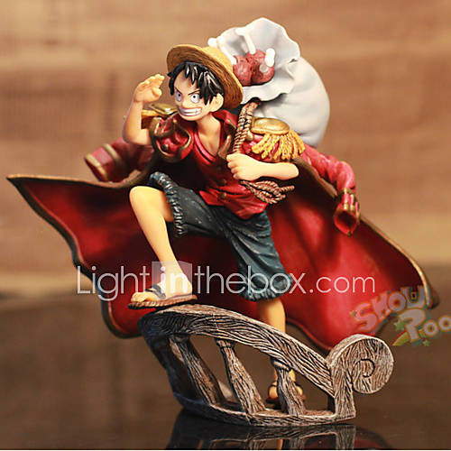 Anime Action Figures Inspired by One Piece Monkey D. Luffy PVC 15 CM Model Toys Doll Toy 1pc