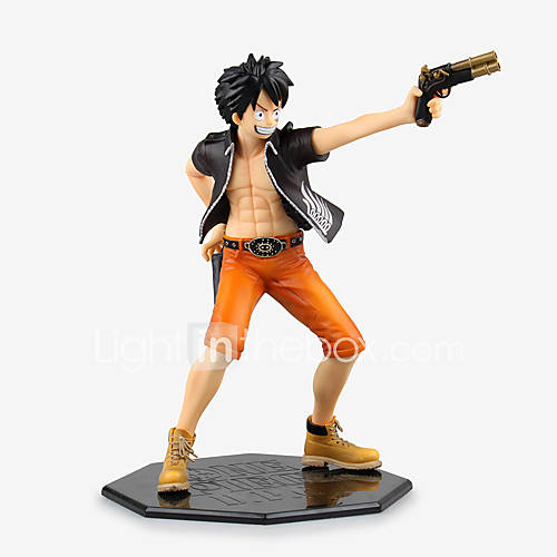 Anime Action Figures Inspired by One Piece Monkey D. Luffy PVC 22 CM Model Toys Doll Toy 1pc