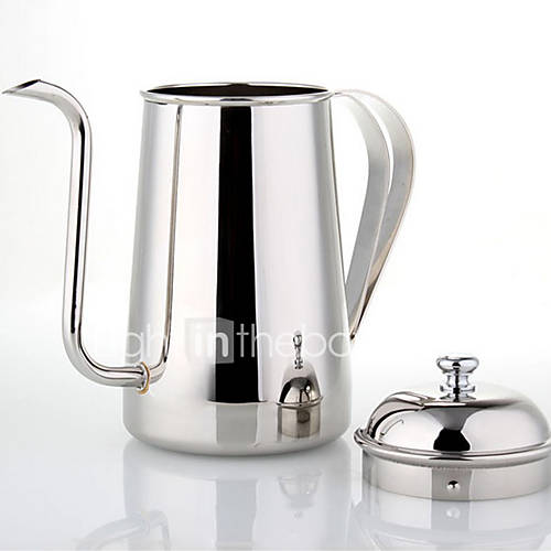 700 ml  Stainless Steel Coffee Kettle  7 cups Maker Reusable