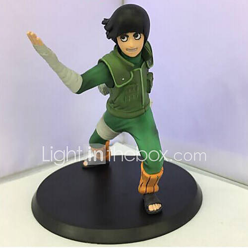 Anime Action Figures Inspired by Hokage Rock Lee PVC 14 CM Model Toys Doll Toy 1pc