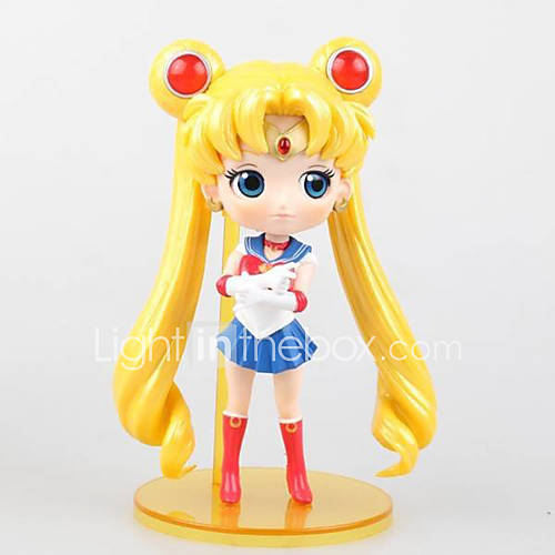 Anime Action Figures Inspired by Sailor Moon Sailor Moon PVC 15 CM Model Toys Doll Toy 1pc