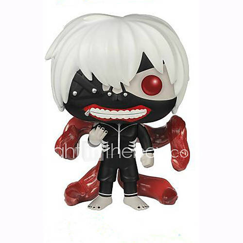 Anime Action Figures Inspired by Tokyo Ghoul Ken Kaneki PVC 10 CM Model Toys Doll Toy 1pc