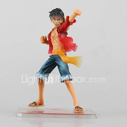 Anime Action Figures Inspired by One Piece Monkey D. Luffy PVC 13 CM Model Toys Doll Toy 1pc
