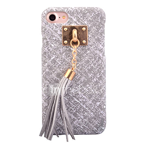 For Apple iPhone 7 7Plus 6S 6Plus Case Cover High-Grade Imitation Leather DIY Ornaments Phone Shell