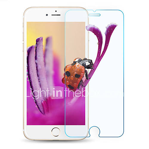 Screen Protector Apple for iPhone 6s iPhone 6 Tempered Glass 2 pcs Front Screen Protector Scratch Proof Ultra Thin 2.5D Curved edge 9H