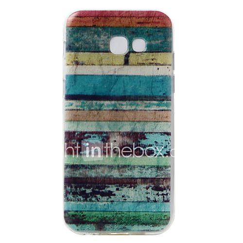For Samsung Galaxy A5(2017) Case Cover Wall Pattern Pattern Super Soft TPU Material Phone Case