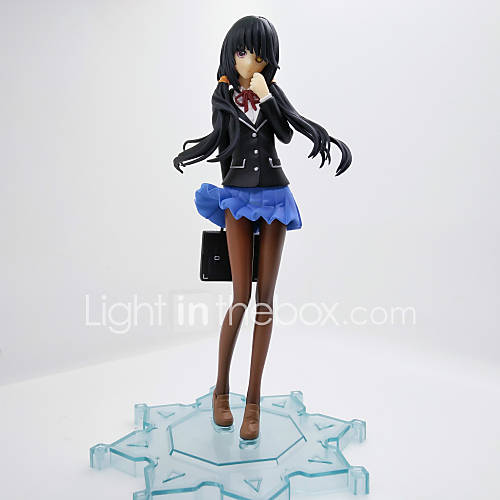 Anime Action Figures Inspired by Date A Live Kurumi Tokisaki PVC 25 CM Model Toys Doll Toy 1pc