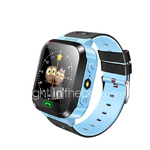 ips 1,44 '' touch screen slimme horloge kinderen gps tracker anti-verloren sos kinderen slimme armband finder afstandsbediening