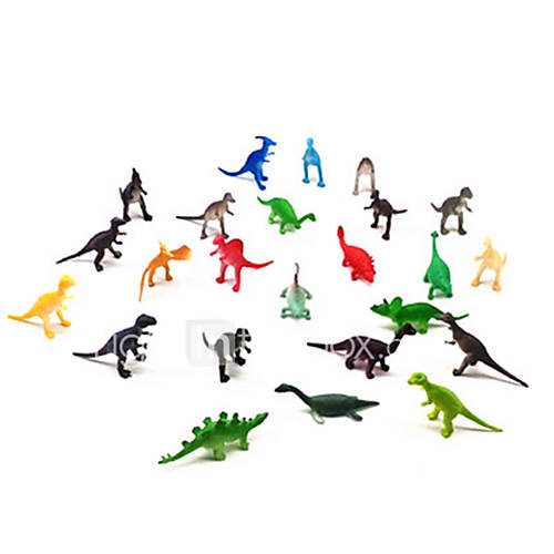 Action Figures  Stuffed Animals Display Model Model  Building Toy Dinosaur Plastic Rainbow