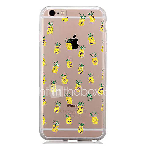 For IPhone 7 Pattern Case Back Cover Case Pineapple Pattern for IPhone 6s 6 Plus 7 7Plus 5s 5 5c 4