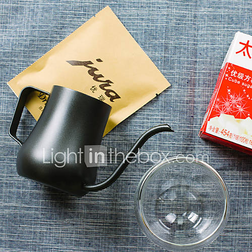 350 ml  Stainless Steel Coffee Kettle  3 cups Maker Reusable