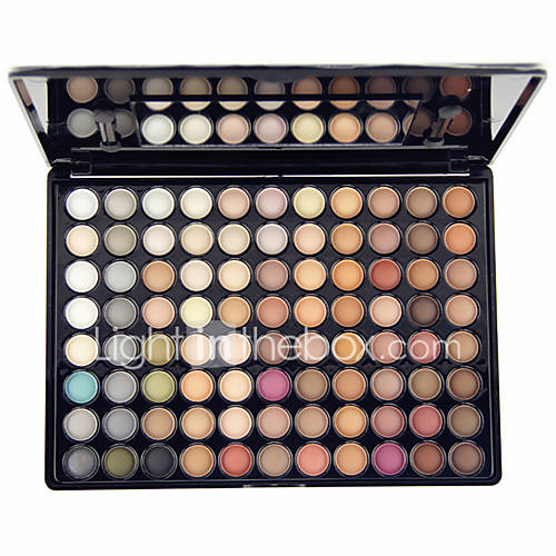 88 Colors Pro Eye Shadow Eyeshadow Palette Dry MatteGlitter Smoky Earth Tone Color Eyeshadow Powder Daily Party Makeup Cosmetic Palette Set