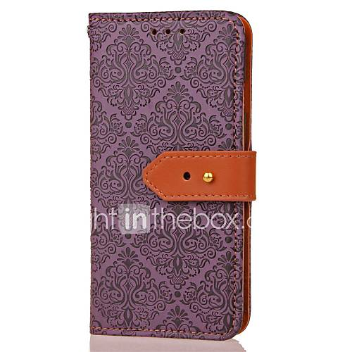 For Samsung Note 5 Card Holder Wallet with Stand Magnetic Pattern Case Full Body Case Flower Hard PU Leather for Samsung Note 4 Note 3