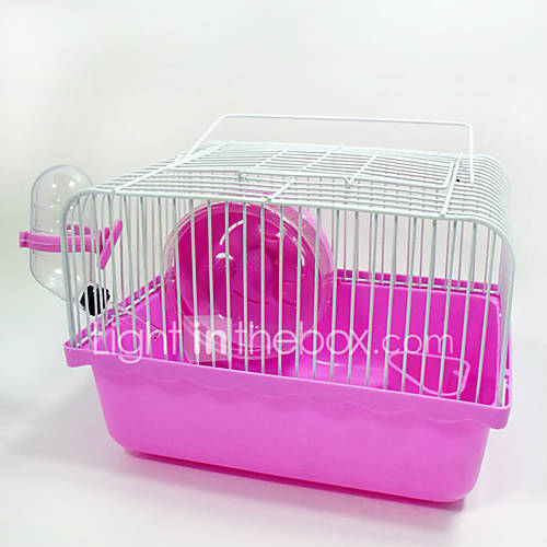 New Hot Sales high quality Plastic Small rural hamster cage Supporting runner kettle bowl