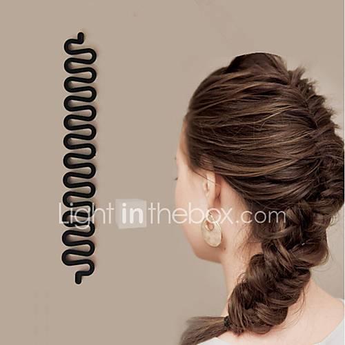 1Pcs New Roller Hair Styling Tools Weave Braid Hair Braider Tool Hair Styling Magic Twist Bun Maker Hair Roller Accessories