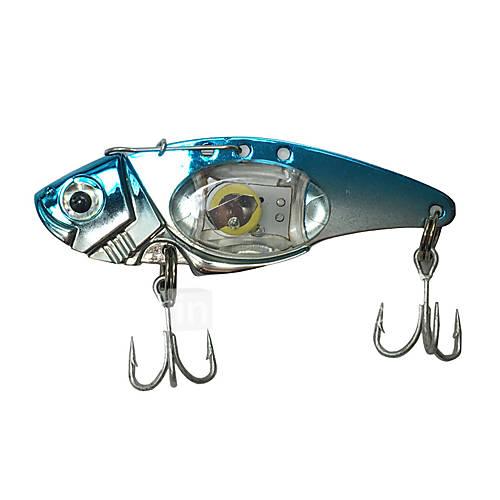 "1 pcs Hard Bait Metal Bait Fishing Lures Hard Bait Metal Bait Trolling Lure phantom g/Ounce80 mm/3-1/4"" inchMetalBait Casting Lure"