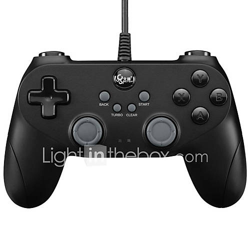 Betop BTP-BD2F Gamepads  for Gaming Handle Wire vibration Black