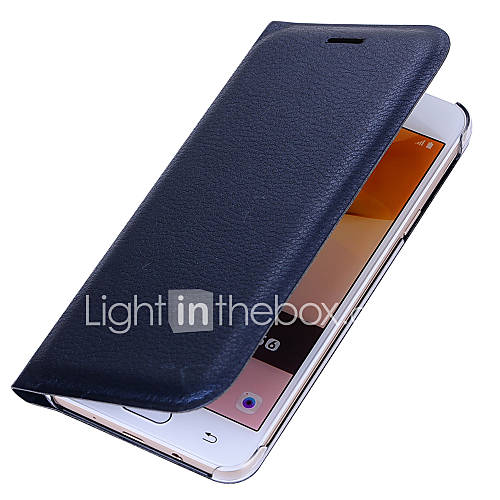 For Samsung Galaxy J7 Prime J5 Prime Luxury Card Holder Flip Case Full Body Case Solid Color Hard PU Leather J3 Prime J2 Prime J7 2016 J5 2016 J1 2016