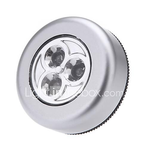 Led touch night light 3leds robinet sans robinet armoire lampe tactile lampe murale mini lampe sans batterie