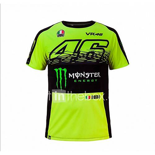 MotoGP T-shirt riding suits motorcycle VR46 Knight Locy cotton short-sleeved racing suit T-shirt