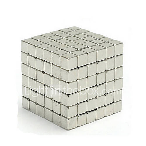 Magnet Toys 216 Pieces 5 MM Magic Cube Executive Toys Puzzle Cube For Gift