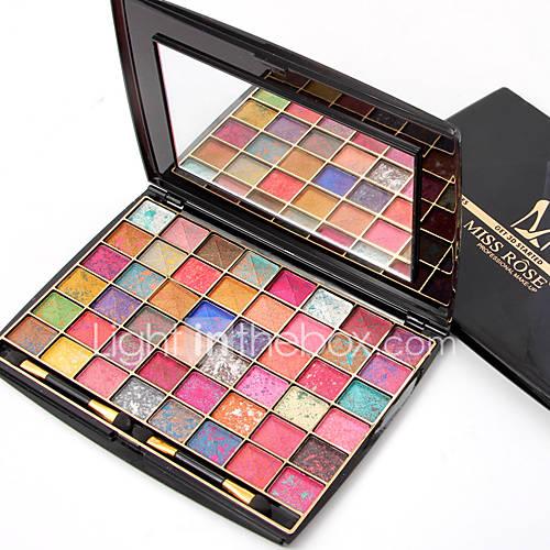 1Pcs Brand  48 Colors Eyeshadow Palette Matte Earth Color 3D Eye Shadow Glitter Eyeshadow Palette Maquillage