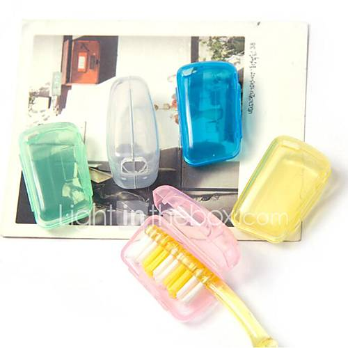 Fonoun Plastic Travel Toothbrush Container/Protector Travel Luggage Organizer / Packing Organizer Moistureproof/Moisture Permeability