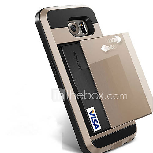 For Samsung Galaxy S8 Plus S8 Phone Case Slide Credit Card Slot Wallet Cover For Samsung Galaxy S7 Edge S7 S6 Edge Plus S6 Edge S6